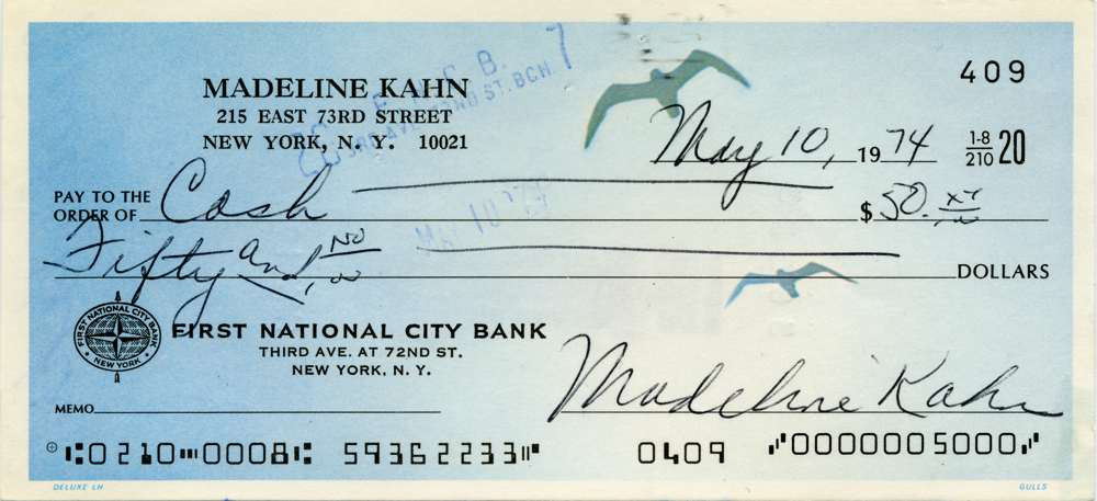 1974 May 10 Madeline Kahn