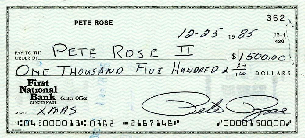 1985 Dec 25, Pete Rose