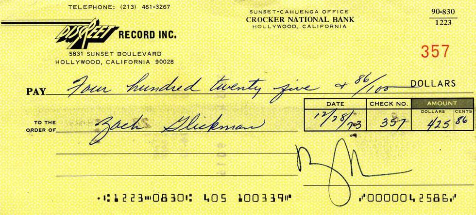 1973 Dec 28, Frank Zappa