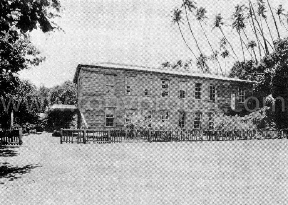 1936 The church on Pitcairn Island