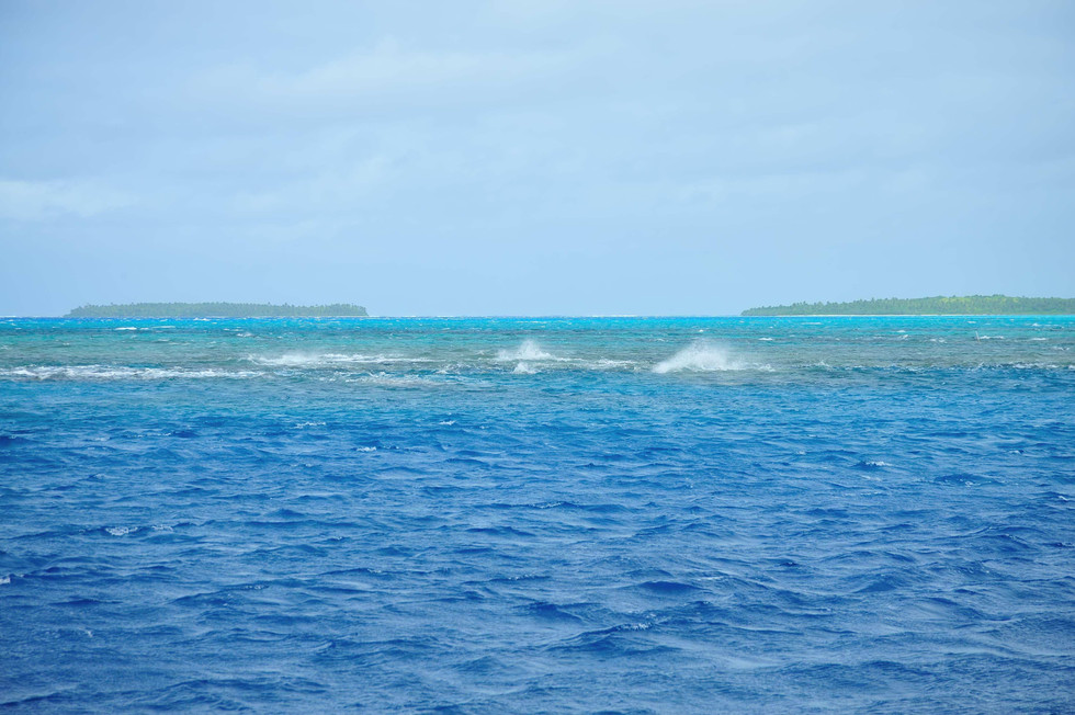 Dangerous Reefs. How many ships have been lost here?