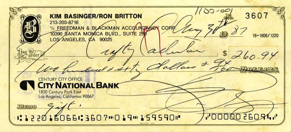 1987 May 30, Kim Basinger