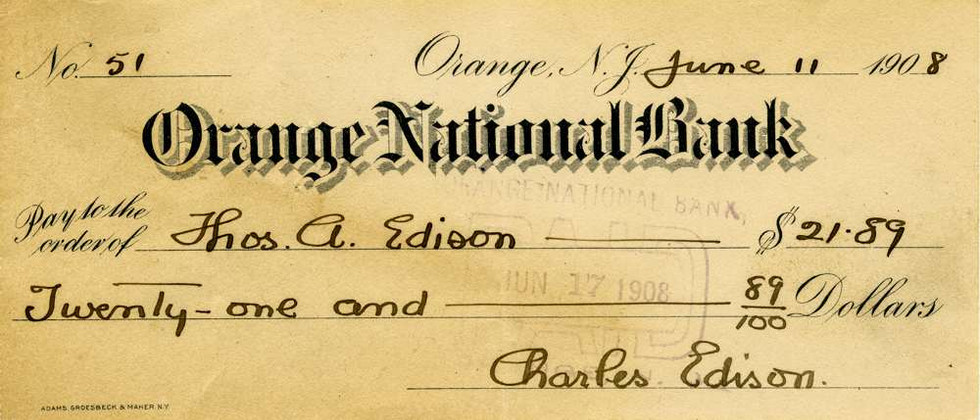 1908 June 11 Charles Edison