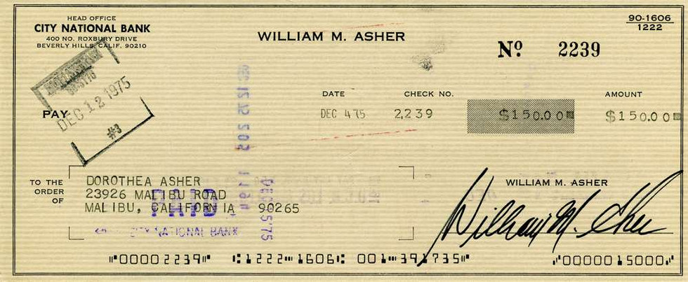1975 Dec 4, William Asher