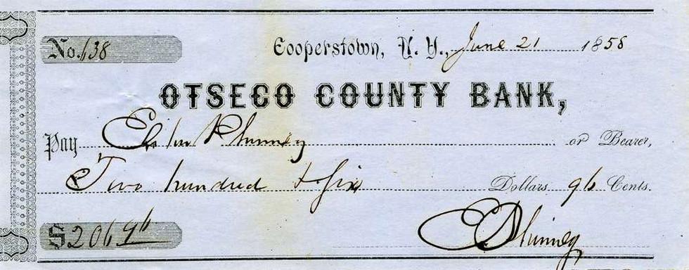 1856 June 21, Elihu Phinney