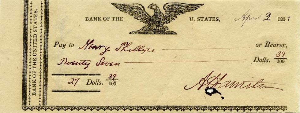 1801 April 2 Alexander Hamilton