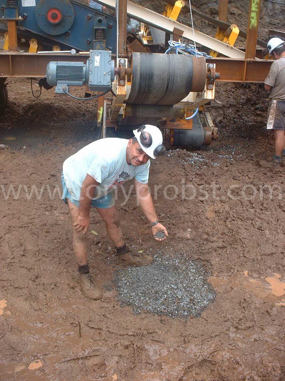 2005 June 5 First gravel