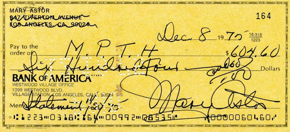 1975 Dec 8, Mary Astor