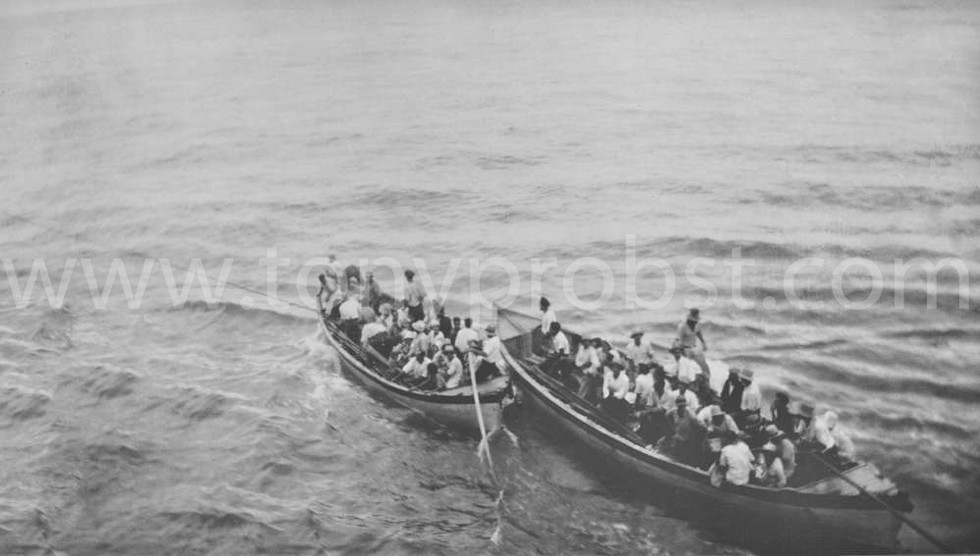 1937 May 4 Ship would tow the longboats back to shore