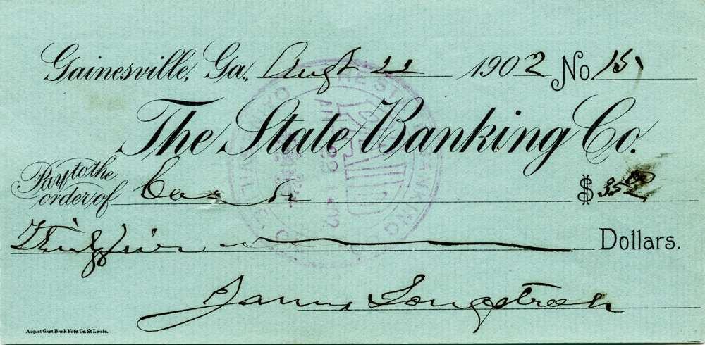1902 Aug 22 Genaral James Longstreet