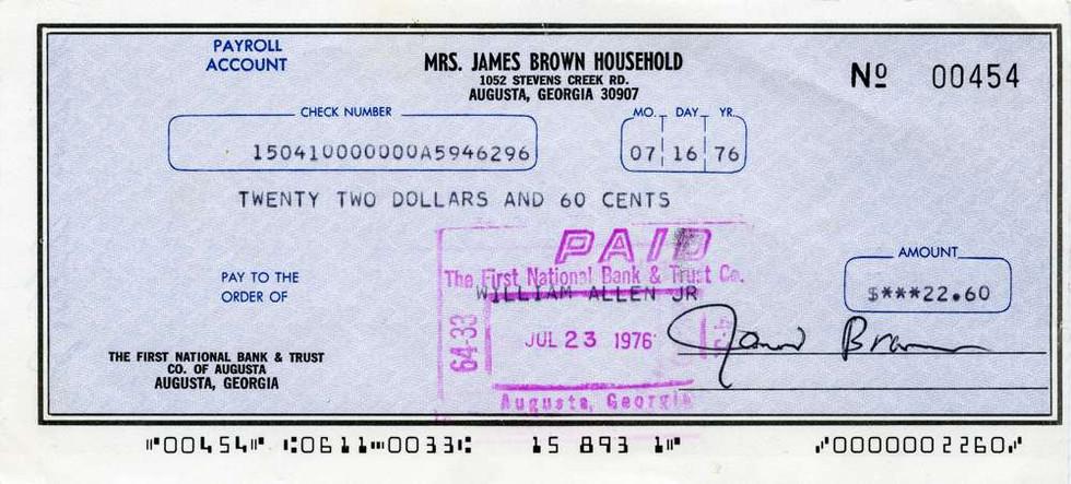 1976 July 16 James Brown