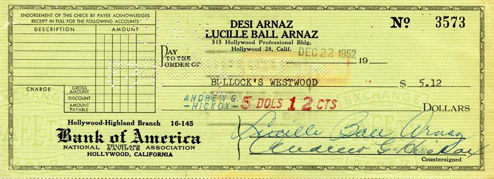 1952 Dec 22, Lucille Ball