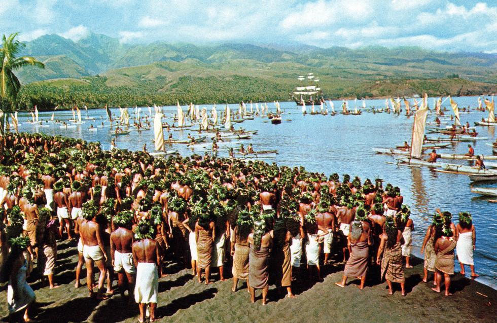 Matavai Bay, Tahiti during the filming of Mutiny On The Bounty.jpg