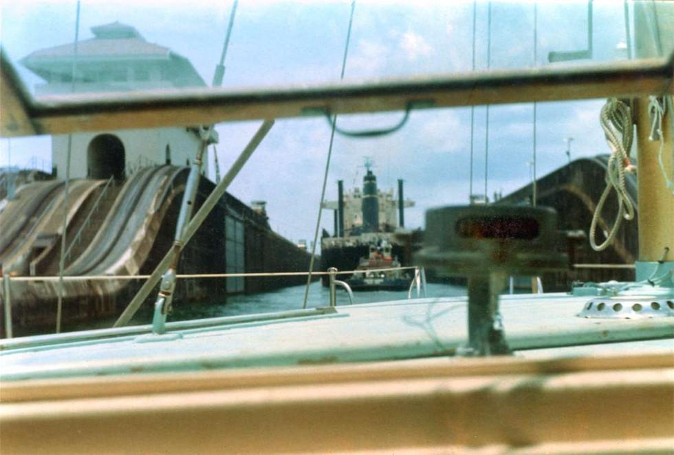Panama Canal April 1972