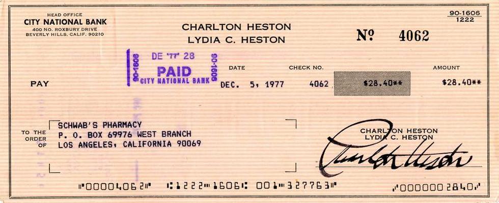 1977 Dec 5, Charlton Heston