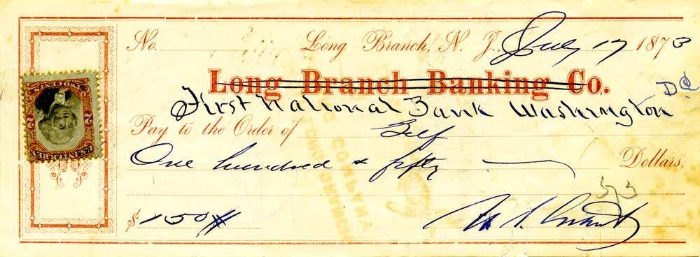 1873 July 17 Ulysses S Grant