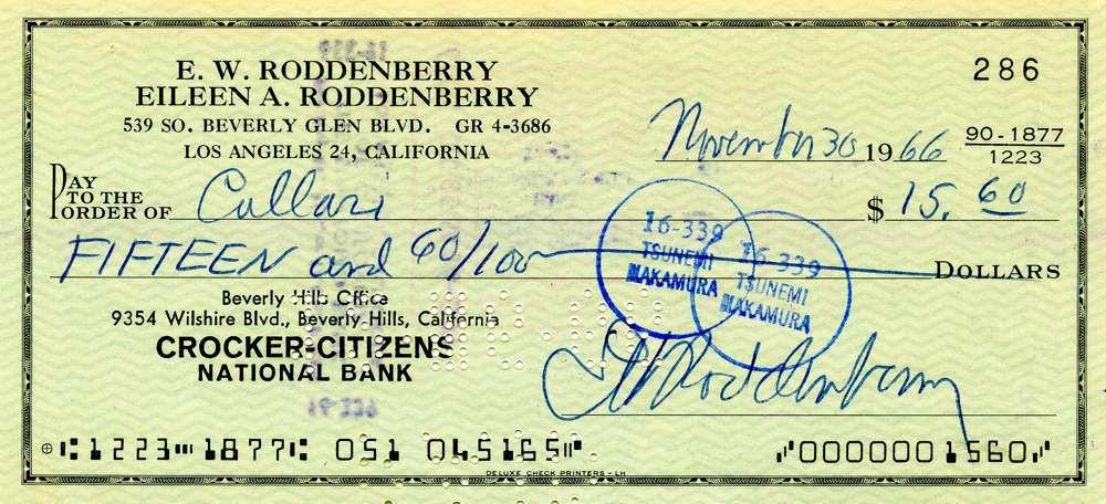 1966 Nov 30, Gene Rodenberry