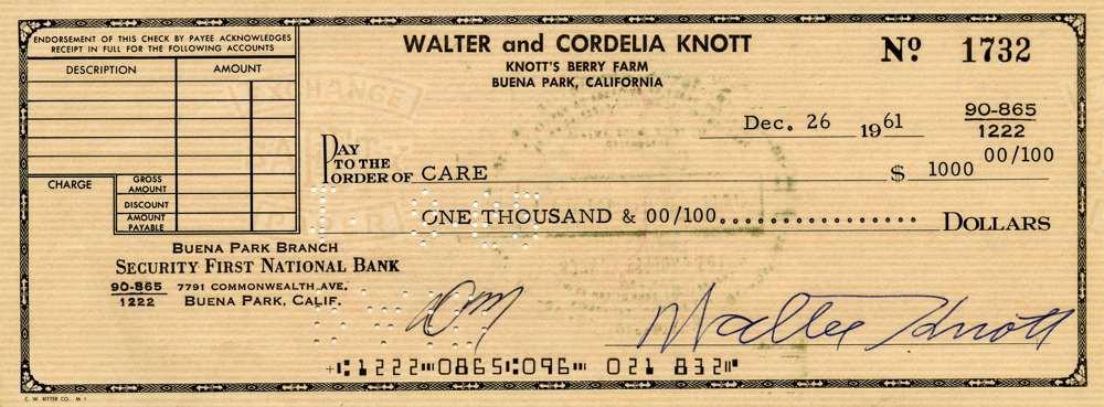 1961 Dec 26 Walter Knott