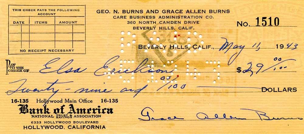 1943 May11 Gracie Allen