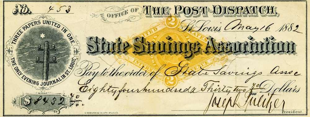 1882 May 16 Joseph Pulitzer