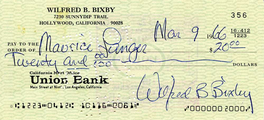 1966 March 9, Bill Bixby