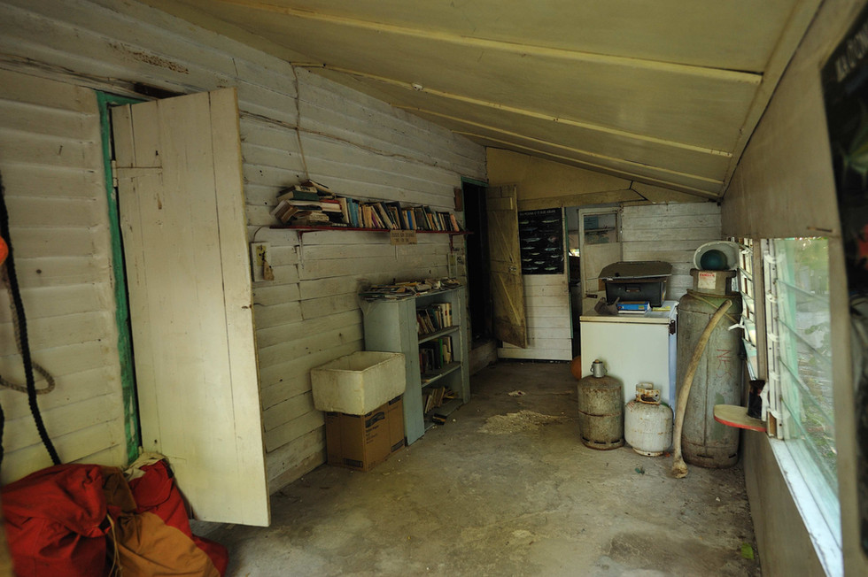 Tom Neale's cabin