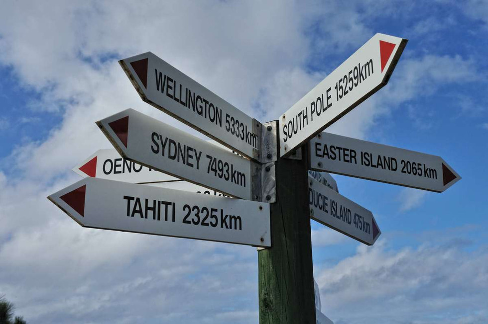 Where is Pitcairn Island? Now you know!