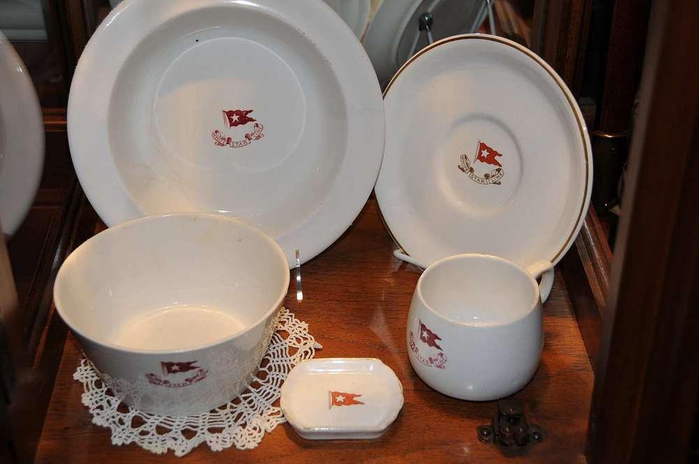 Third class china on display in my store in San Rafael, CA