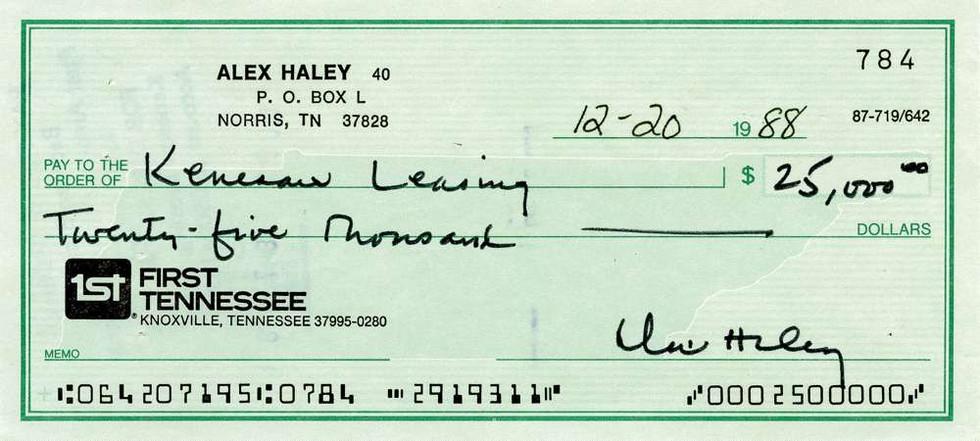 1988 Dec 20, Alex Haley