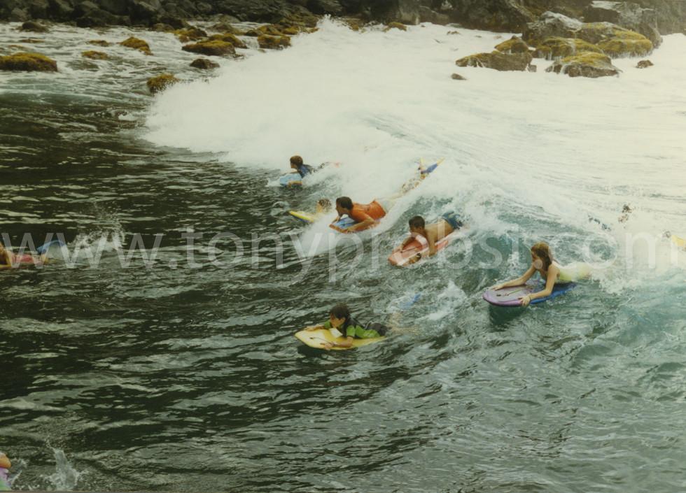 1996 January 23 Surfing in Bounty Bay