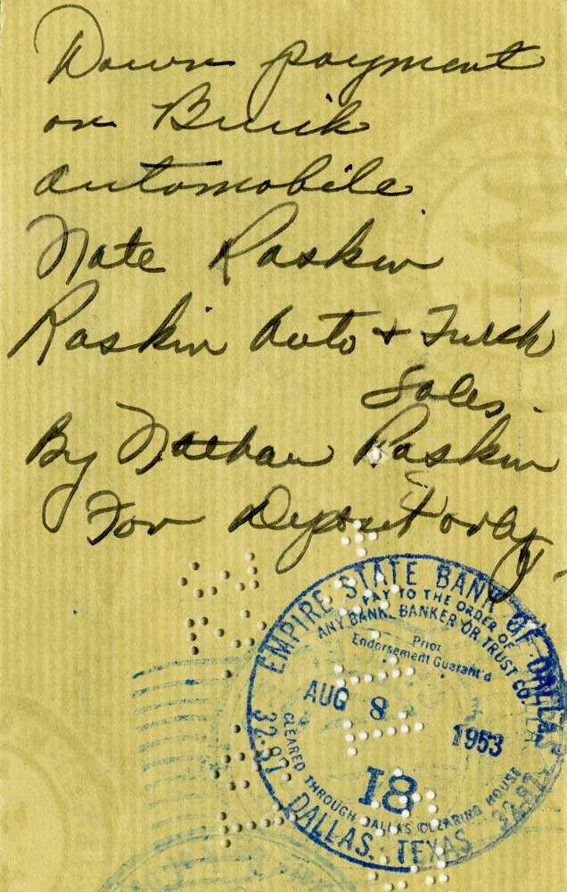 1953 Aug 8 Jack Ruby