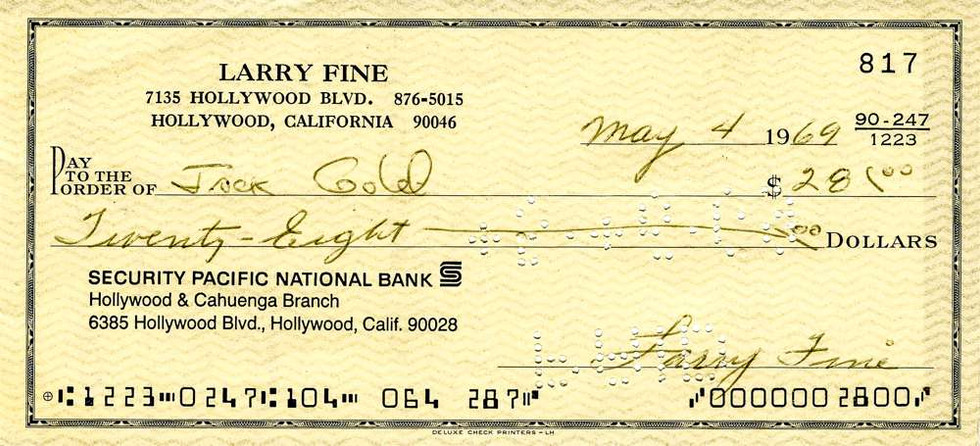 1969 May 4 Larry Fine
