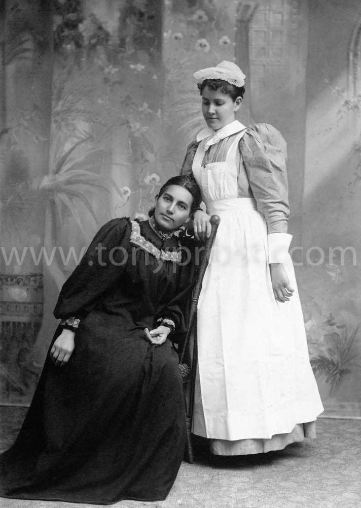 1897 March 17 Rosolind Young & Ester Hale