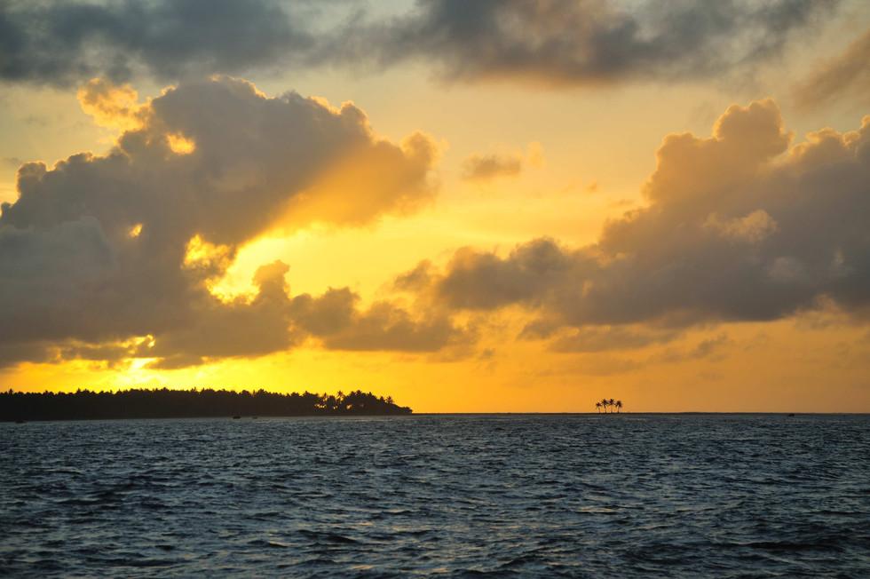 Sunrise, Pukapuka, Cook islands