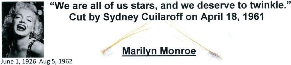 1953, Jan 23 Marilyn Monroe