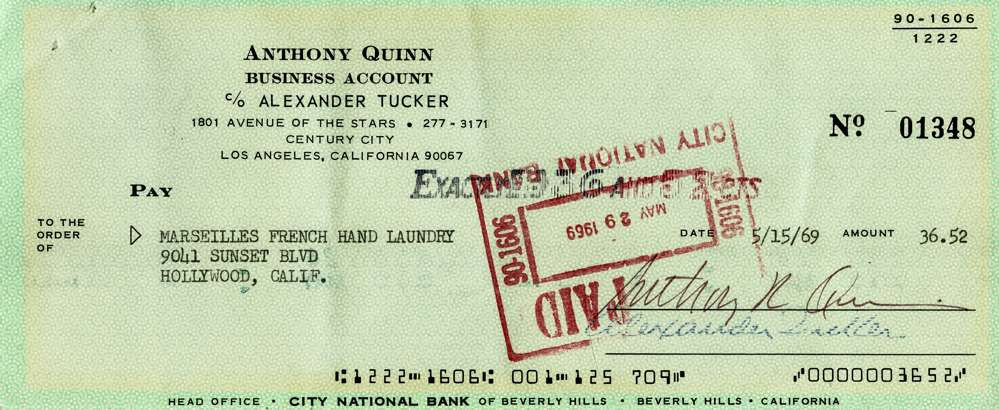 1969 May 15 Anthony Quinn