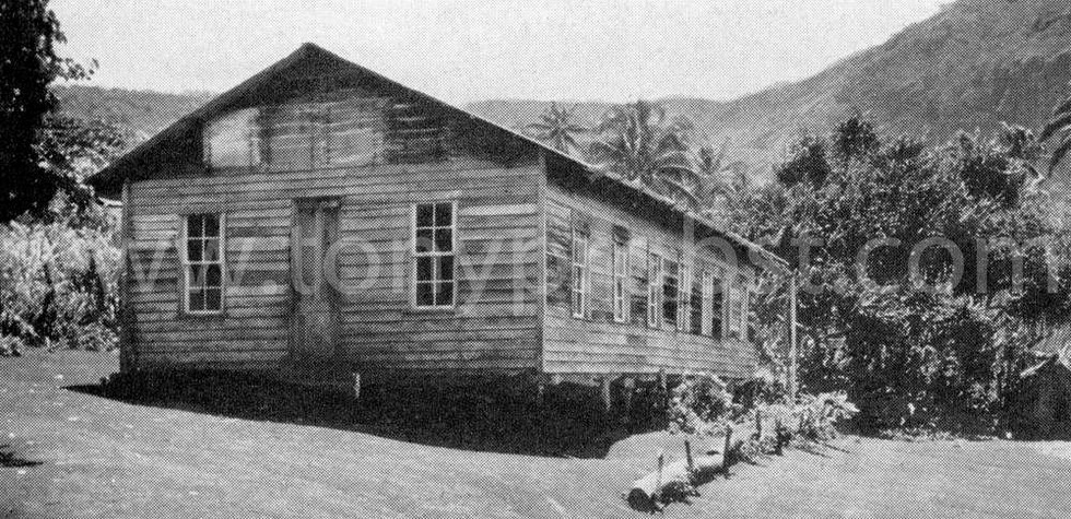 1936 School on Pitcairn island