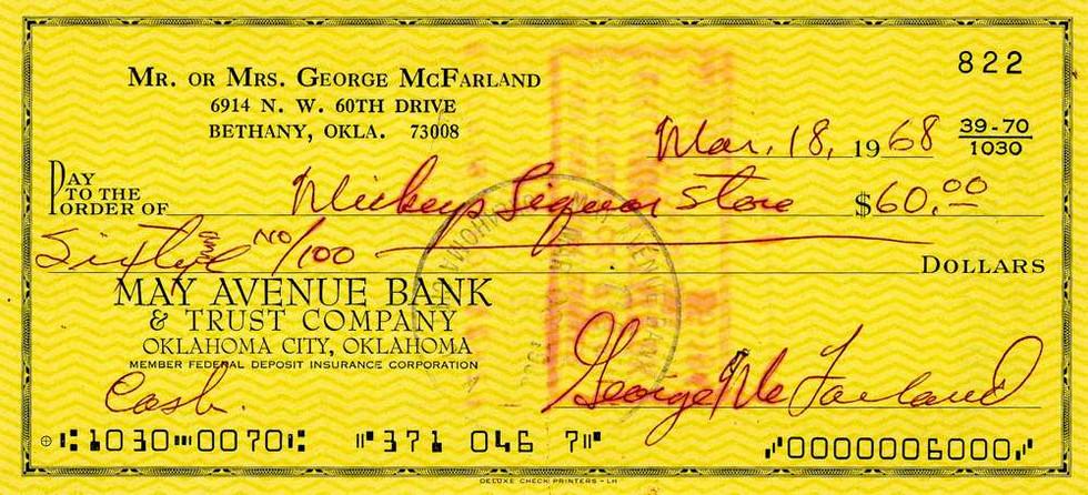 1968 Mar 18, George 'Spankey' McFarland