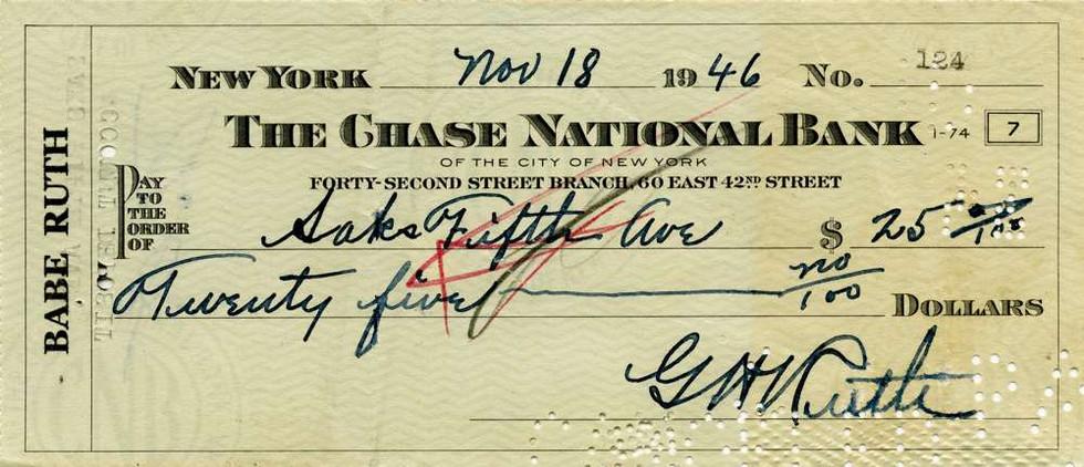 1946 Nov 18 Babe Ruth