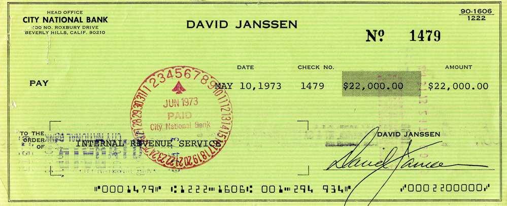 1973 May 10, David Janssen