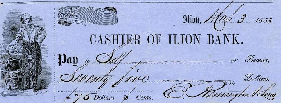 1853 March 3, Eliphalet Remington