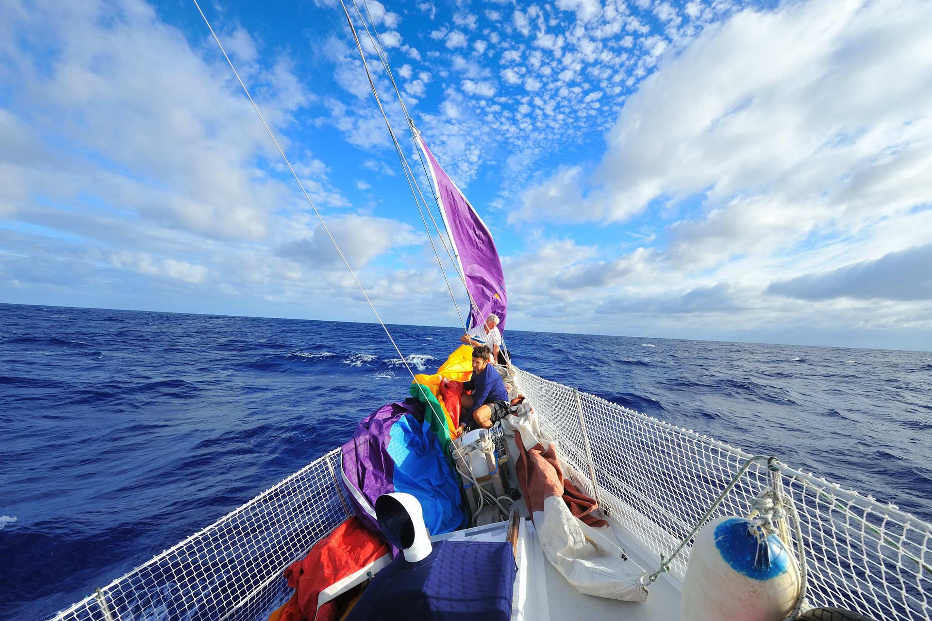 Bound for Palmerston Atoll