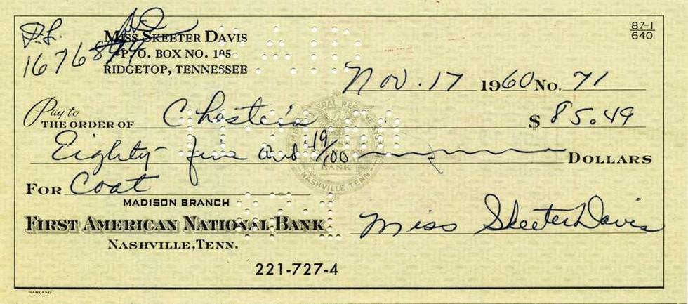 1960 Nov17 Skeeter Davis