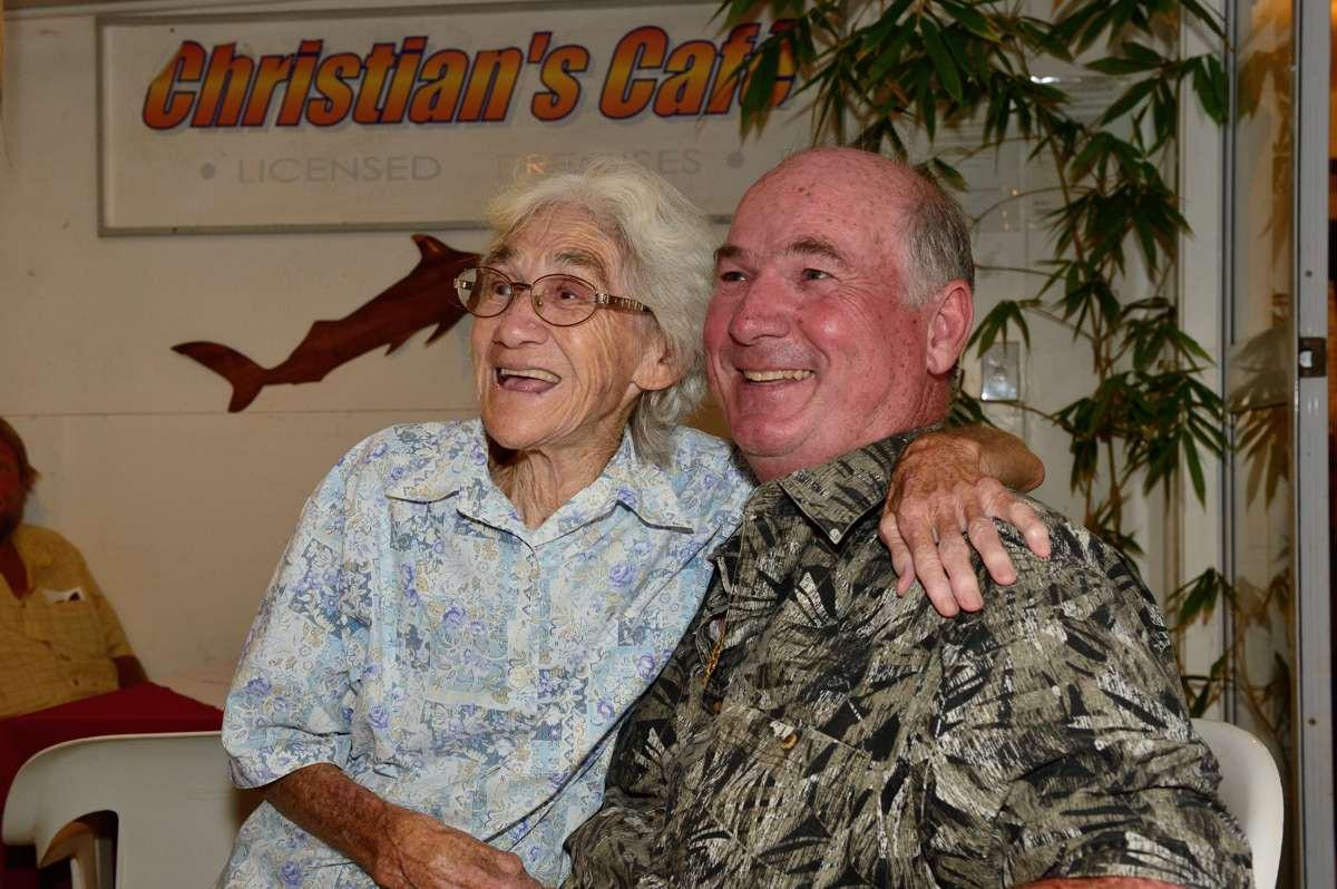Irma Christian & Tony Probst at Christians Cafe
