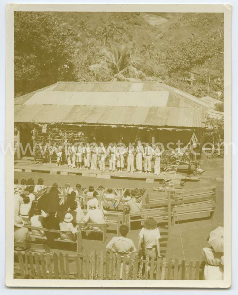 1940 Celibrating the 150th anniversary of the arrival of the Bounty