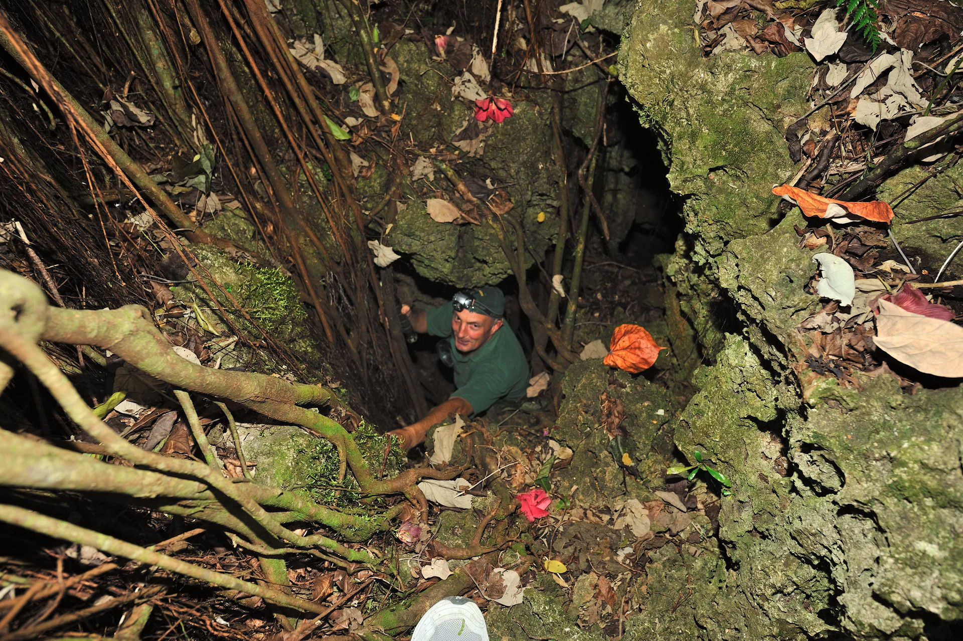 Entrance to Rimarau Burial Cave