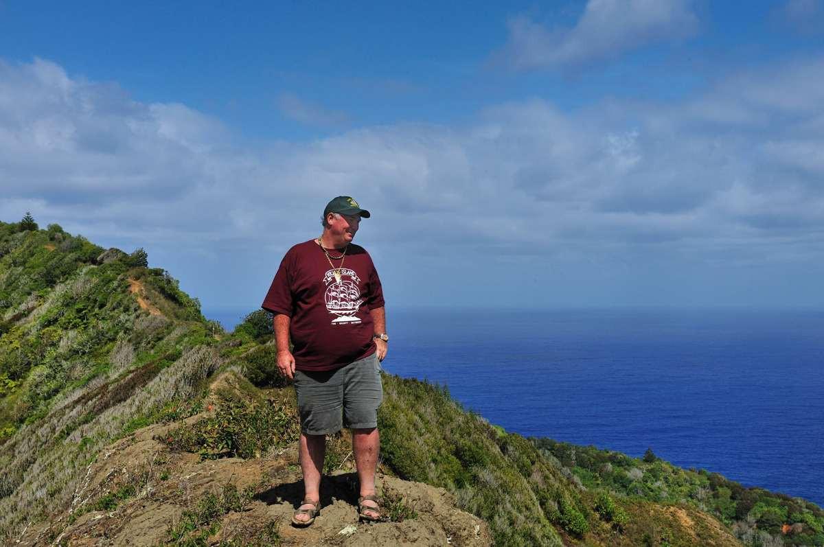 On top of Gannets Ridge