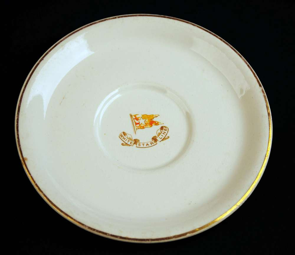 Very rare Stonier third class plate dated March 1903
