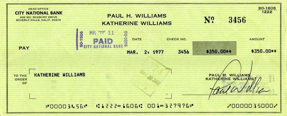 1977 Mar 2, Paul Williams
