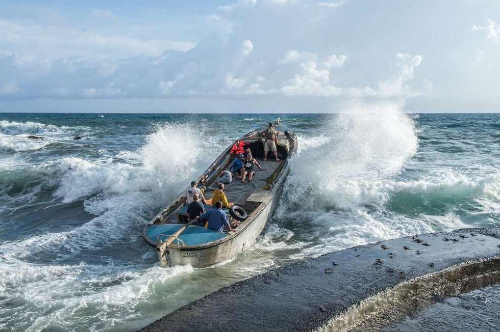 You might not want to bring your own boat ashore